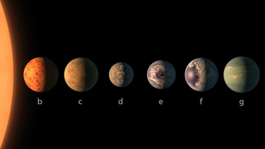 7 planetas…