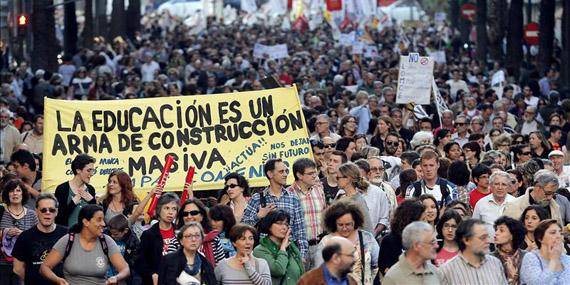 Cada vez se permiten más manifestaciones en Madrid