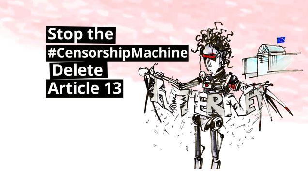 El ParlamentoEuropeo puede el 20 de junio censurar Internet dando su control a las grandes empresas
